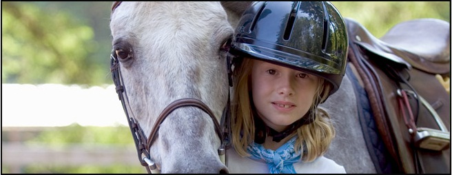 A young rider at Phoenix Farm